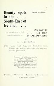 Cover of: Beauty spots in the south-east of Ireland | Cornelius P. Redmond
