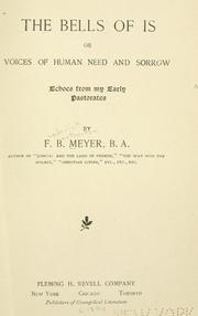 Cover of: The bells of Is | Meyer, F. B.