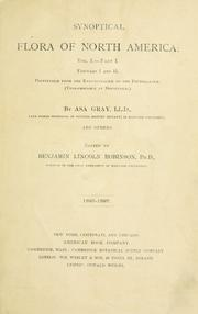 Cover of: Synoptical flora of North America | Asa Gray