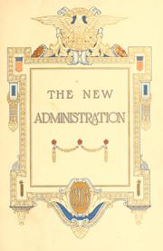 Cover of: The new administration | [Walton trust company], Boston
