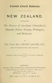 Cover of: New Zealand | Jacobs, Henry.