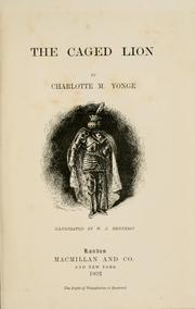 Cover of: The Caged Lion by Charlotte Mary Yonge