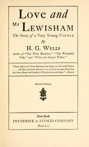 Cover of: Love and Mr. Lewisham by H. G. Wells