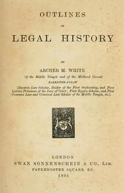 select essays in anglo-american legal history Select essays in anglo-american legal history, volume 1: john henry wigmore, of american law schools association of american law schools, association of american law schools: 9781149964774: books - amazonca.