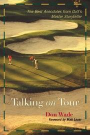 Cover of: Talking on Tour | Don Wade