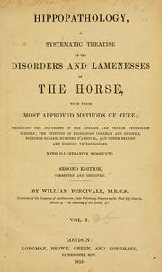 Cover of: Hippopathology by Percivall, William.