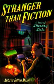 Cover of: Stranger than fiction | Aubrey Dillon-Malone