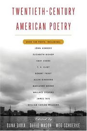 Cover of: Twentieth Century American Poetry by Dana Gioia