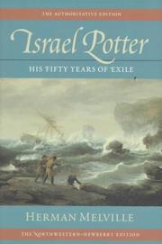 Cover of: Israel Potter by Herman Melville