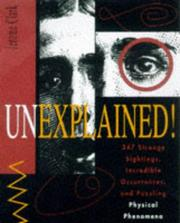 Cover of: Unexplained! | Jerome Clark