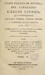 Cover of: Species plantarum | Carl Linnaeus