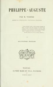 Cover of: Philippe-Auguste | Louis Phocion Todière