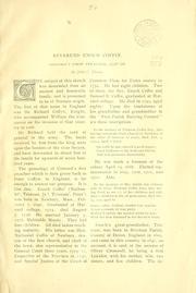 Reverend Enoch Coffin