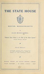Cover of: The State house | Ellen Mudge Burrill