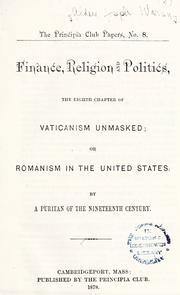 Vaticanism unmasked