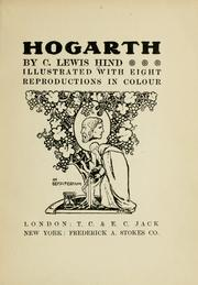 Cover of: Hogarth | C. Lewis Hind