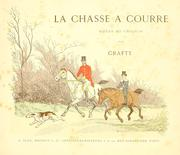 Cover of: La chasse a courre | Crafty