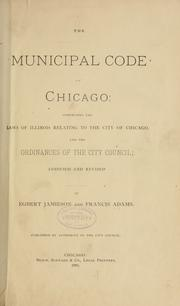 Cover of: Municipal code of Chicago | Chicago (Ill.)