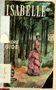 Cover of: Isabelle by André Gide