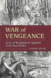 Cover of: War of vengeance by Lonnie R. Speer