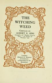 Cover of: The witching weed | Albert Edward Sims