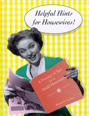 Cover of: Helpful hints for housewives | Benjamin Darling