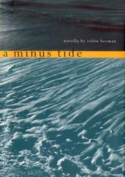 Cover of: A minus tide by Robin Beeman