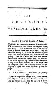 Cover of: The complete vermin-killer by Complete vermin -killer