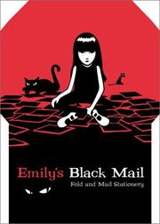 Cover of: Emily's Black Mail Fold and Mail Stationery | Cosmic Debris.
