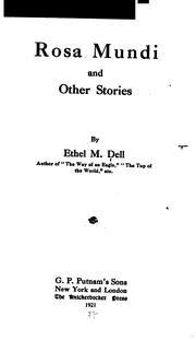 Cover of: Rosa Mundi: And Other Stories by Ethel M. Dell