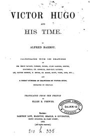 Cover of: Victor Hugo and His Times by Alfred Barbou