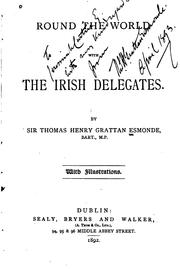 Cover of: Round the World with the Irish Delegates by Thomas Henry Gratton Esmonde