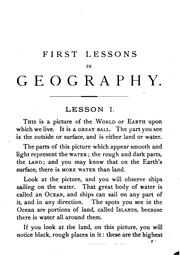 Cover of: First Lessons in Geography: On the Plan of Object Teaching : Designed for Beginners by James Monteith