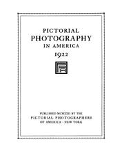 Cover of: Pictorial Photography in America by Pictorial Photographers of America