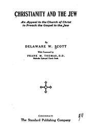Cover of: Christianity and the Jew by Delaware Walter Scott