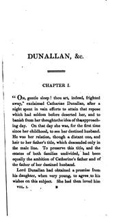 Cover of: Dunallan; or, Know what you judge, by the author of The decision | Grace Kennedy