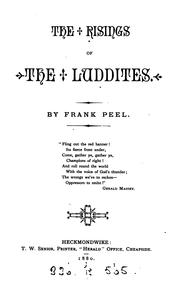 Cover of: The risings of the Luddites by Frank Peel