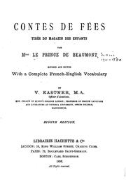 Cover of: Contes de fées by Victor Kastner