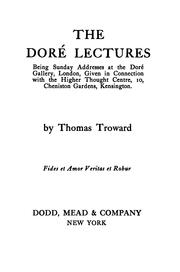 Cover of: The Dore Lectures on Mental Science by Thomas Troward