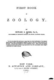 Cover of: First Book of Zoölogy by Edward Sylvester Morse