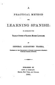 Cover of: A Practical Method for Learning Spanish by Alejandro Ybarra