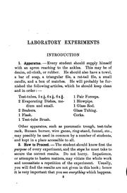 "Cover of: Laboratory Experiments to Accompany ""Modern Chemistry,"" by Fredus Nelson Peters"