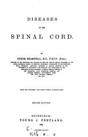 Cover of: Diseases of the Spinal Cord by Byrom Bramwell