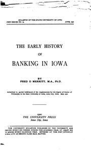 Cover of: University of Iowa Studies in the Social Sciences by University of Iowa