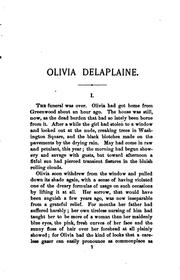Cover of: Olivia Delaplaine: A Novel by Edgar Fawcett