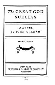 Cover of: Great God Success: A Novel by David Graham Phillips