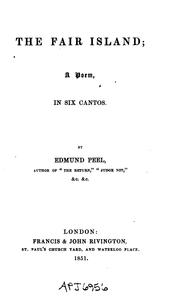 Cover of: The Fair Island: A Poem, in Six Cantos by Edmund Peel