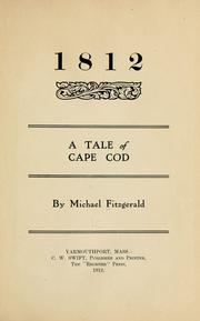 Cover of: 1812 | Fitzgerald, Michael