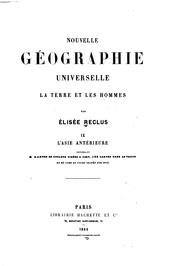 Cover of: Nouvelle geographie universelle v. 9, 1884 by Elisée Reclus