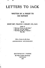 Cover of: Letters to Jack: Written by a Priest to His Nephew by Francis Clement Kelley